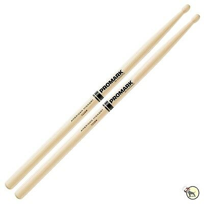 Pro-Mark TX2BW Hickory 2B Wood Tip Drumsticks Drum Sticks ProMark