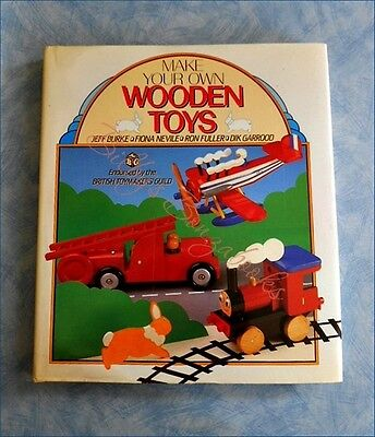 MAKE  YOUR  OWN  WOODEN  TOYS -  20 Toys to Make for 6 Months - 10 Years - HCDJ