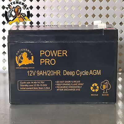 NEW 12V 9AH SLA AGM battery 60CCA Same Size as 12V 7ah 7.2ah 8ah Alarm Toy Light