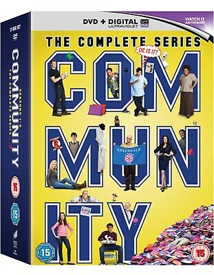 Community: The Complete Series (with UltraViolet Copy) [DVD]