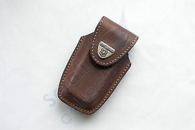 Victorinox Brown Leather Pouch 4.0535 Case Swiss Army Folding Knife