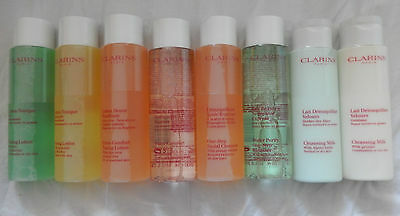 Clarins Cleansers/toners/one-Step/eyes - The Bottled Range