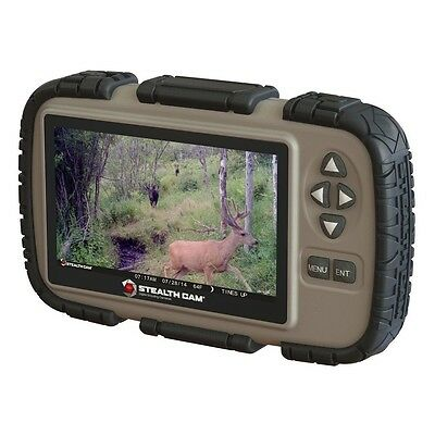 "New Stealth Cam 4.3"" LCD SD Card Game Camera Picture Viewer Reader STC-CRV43"