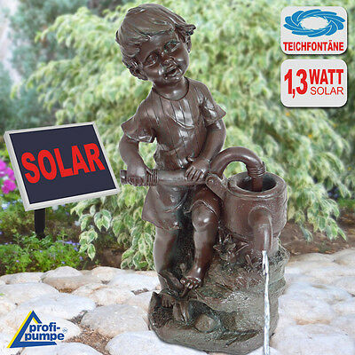 Solar Water Feature Fountain Pond Pump Kit Garden Water Feature Solar Powered
