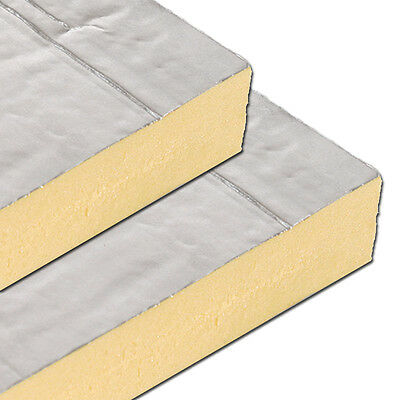 Foil Faced insulation board 2400x1200 sheet MULTIPLE THICKNESS PRICE PER BOARD