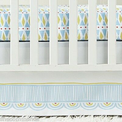 NEW Serena And Lily Circus Crib Skirt