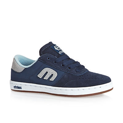 Brand NEW Etnies Kids/Youth Lo-Cut Skateboard Shoes in Blue