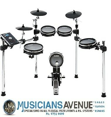 Alesis Command 5-Pce Electronic Drum Kit All Mesh. Free Headphones And Sticks!!!