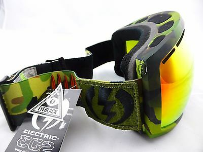 Electric EG2 Snow Goggles Peter Line - Bronze/Red Chrome Lens in Hard Case