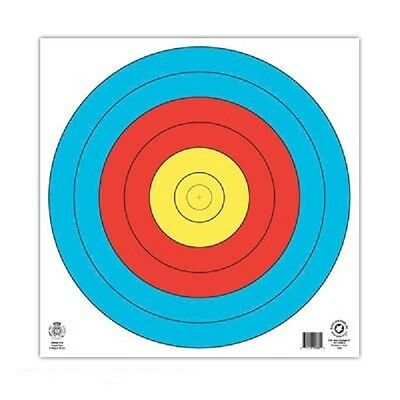 Target Face WA Fita 80cm Centre 6 Ring heavy reinforced  (5 Pack)