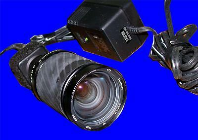 Watec Ccd Video Camera With Computar 200 Mm Lens And 12 V Power Supply