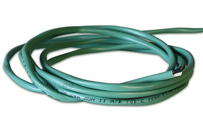 100 Feet 16AWG In-Wall Light Green Speaker Cable. 16/2 Wire. 99.99% Copper