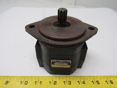 John Barns 6592 Hydraulic Pump From Raymond Pacer Model 60 Forklift