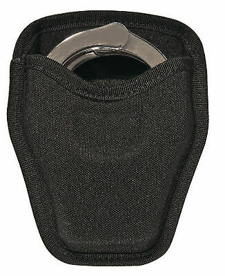 8034 Police Security Guard Officer Black Nylon Open Top Handcuff Case Holder NEW