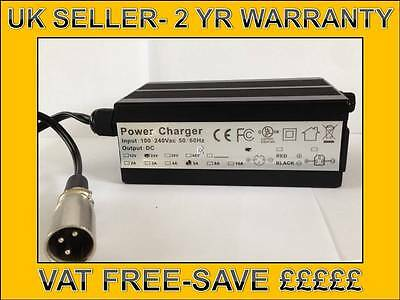QUALITY 24v 5A MOBILITY SCOOTER WHEELCHAIR POWERCHAIR LEAD ACID GEL CHARGER