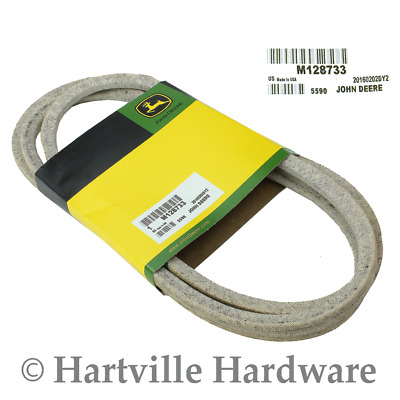 John Deere Original Equipment Mower Deck Drive V-Belt #M128733