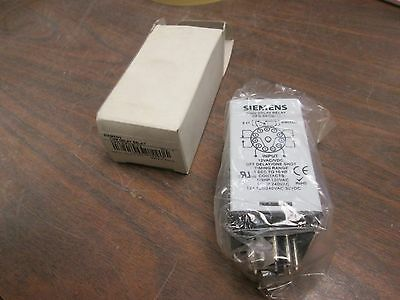 Siemens Time Delay Relay OFD-DFOB-12 24V New Surplus