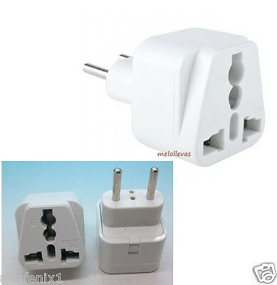 Adaptador De Enchufe Universal Chino / China / Usa Universal A Enchufe Europeo