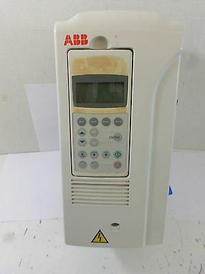 Abb  Acs800-U1-0011-5   10 Hp  Vfd 14A 3 Phase Drive Acs 800  Tested