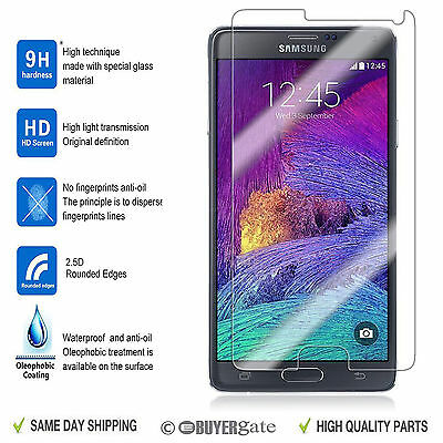 Real Tempered Glass Film Lcd Screen Protector For Samsung Galaxy Note 4