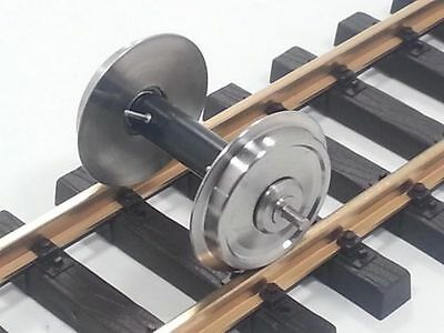 Train Line45 Stainless steel wheel set 2 Pcs with Ball bearings and