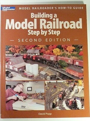Kalmbach Building a Model Railroad Step by Step / Model Railroader 12467 READ>>>