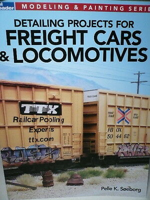 Kalmbach Detailing for Freight Cars & Locomotive / Model Railroader 12477 (READ)