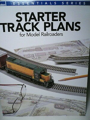 Kalmbach Starter Track Plans / Model Railroader 12466 (READ)