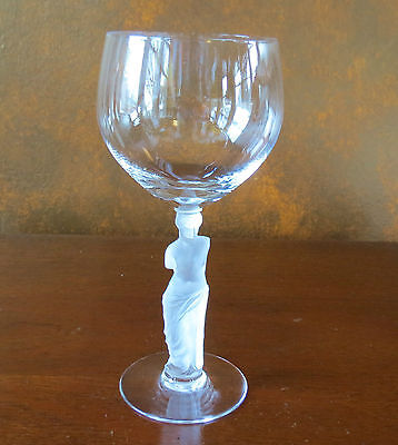 Bayel Nude Venus de Milo Frosted Stem Tall Water Goblet(s)