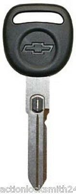 New Corvette Style Big Head GM Double Sided Vats Ignition Chevy Key w// Chip #05