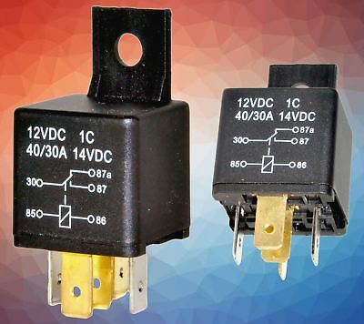 5 pin 12V 30A relay switch for car or bike