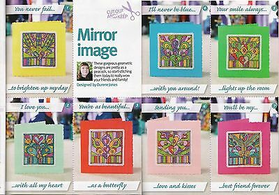 Mirror Image Cross Stitch Chart