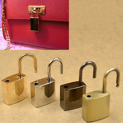 Mini Padlock With Key Gold Silver Black Luggage Suitcase Safe Lock 1PC Fashion