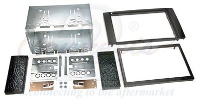CT23FD01 Ford Transit -05 on Black Double Din Car Stereo Fitting Kit Facia