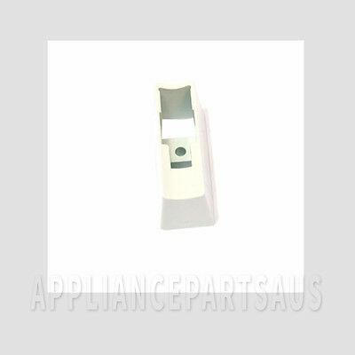 PEDESTAL HANDLE WHITE RS662V GENUINE WESTINGHOUSE REFRIGERATOR p/n 1443893