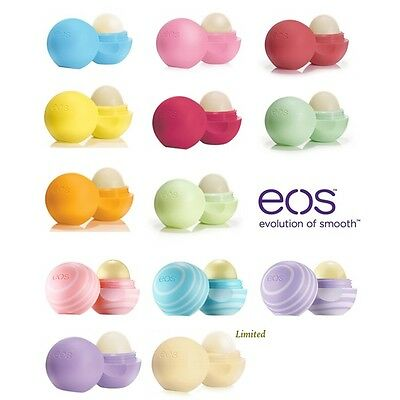 EOS Lip Balm Evolution Of Smooth Sphere Natural Organic Brand New Sealed
