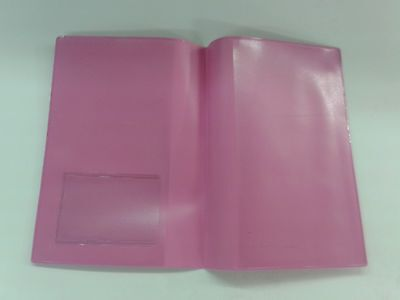 Pink Mot Holder / A4 Holder With Clear On Outside