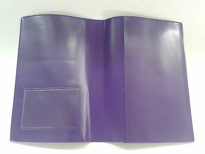 Purple Mot Holder / A4 Holder With Clear On Outside