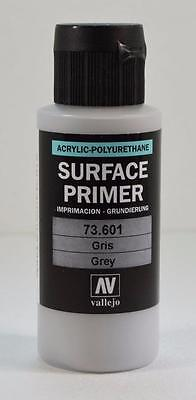 Vallejo Grey Surface Primer Acrylic Polyurethane 60ml VAL 73601