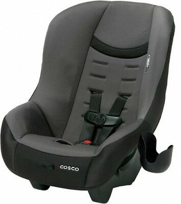 New Convertible Car Seat Black, Easy To Clean Rear Forward Facing Airplane Safe