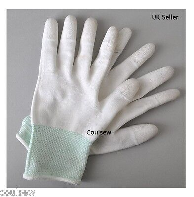Quilters Free Motion Deluxe Finger Grip Gloves Sewing Quilting Embroidery MEDIUM