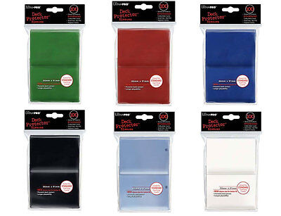 100 Ultra Pro Standard Card Sleeve Deck Protector MTG Magic Soft Perfect Fit Mix