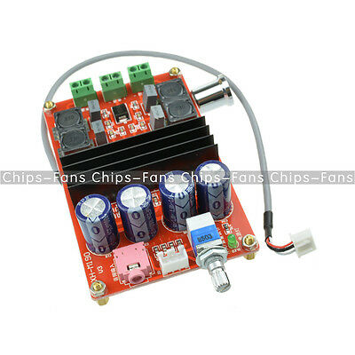 2x100W TPA3116 D2 Dual Channel Digital Audio Amplifier Board 12V-24V Arduino New