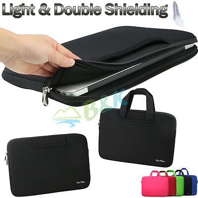 "For 11"" 13"" Laptop Notebook Sleeve Case Bag MacBook Air Pro Retina Handled"
