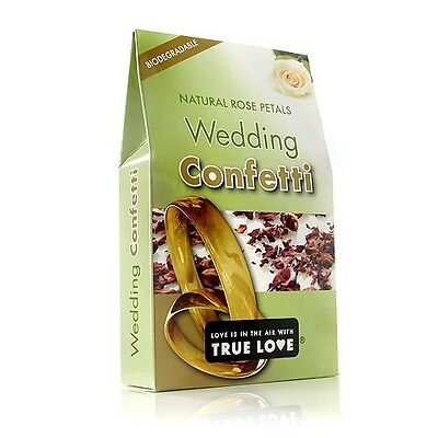 Natural Mini Rose Petals Wedding Throwing Confetti | Biodegradable 1-24pk