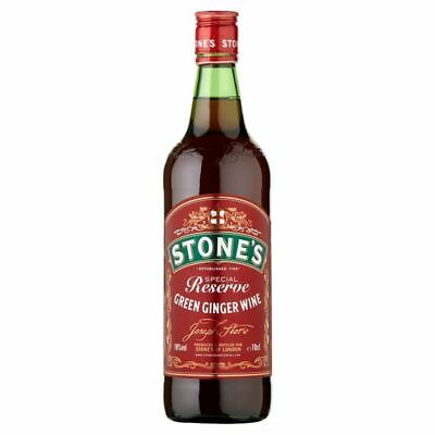 Stone's Special Reserve Green Ginger Wine 70cl (Single Bottle)