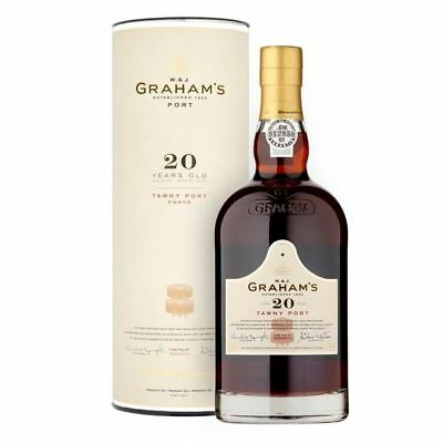 Graham's 20 Year Old Tawny Port 75cl (Single Bottle)