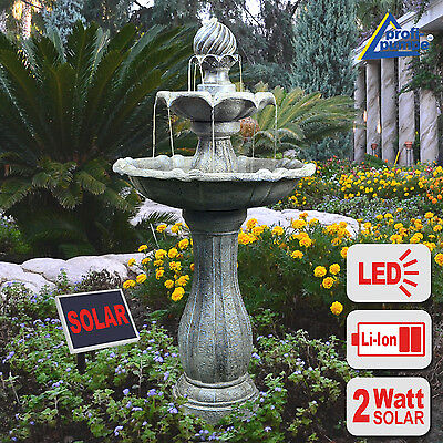 Solar Water Feature Garden Water Feature Fountain Pond Pump Solar Powered