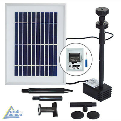 Solar Water Pump Pond Pump Garden Feature Submersible Fountain Solar Powered