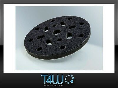 T4W Velcro Protection sanding polishing pad 150mm x 10mm / black (soft)